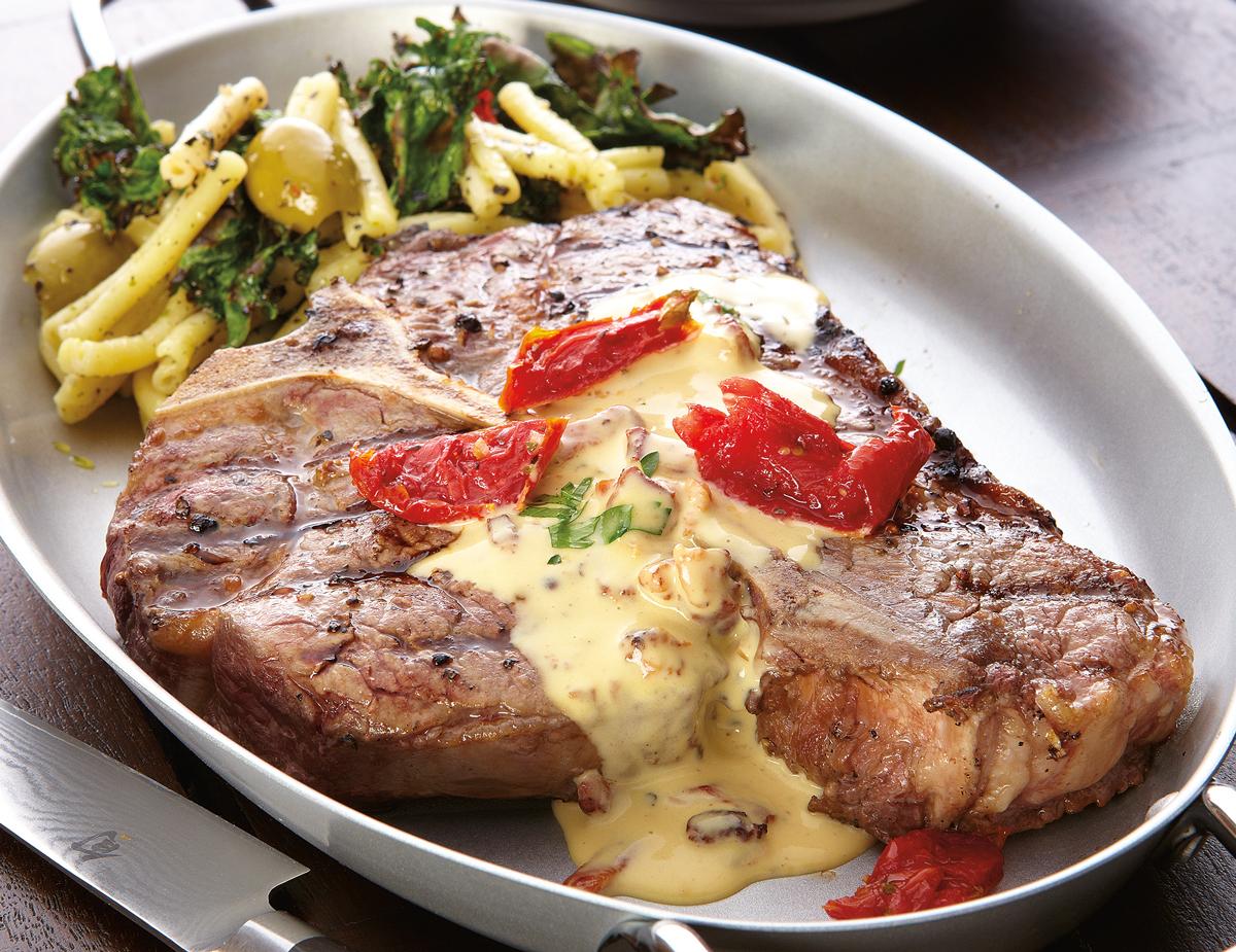 Bacon-Mustard-T-Bone-Steak