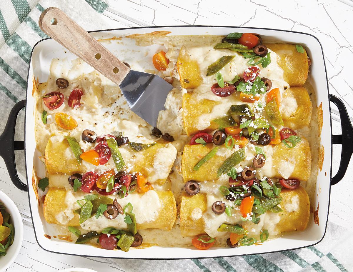 Hatch-Chile-Chicken-Enchilada