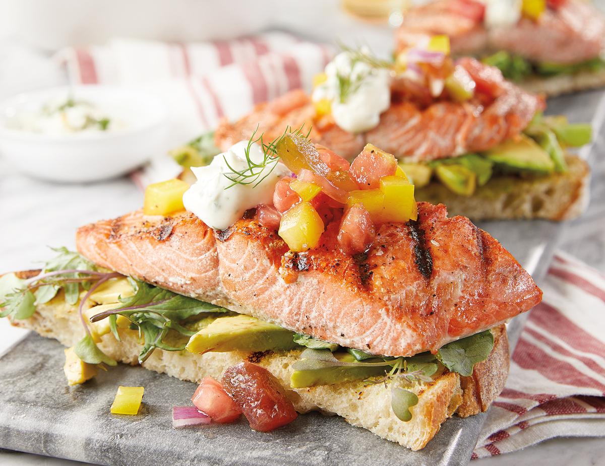 Salmon-Avacado-Toast