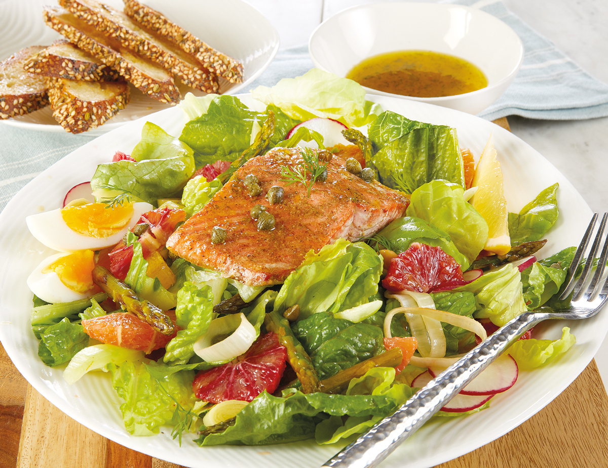 Salmon-Citrus-Orange-Salad