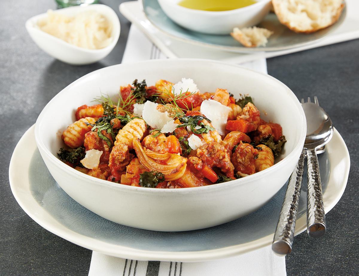 Sausage-Gnocchi