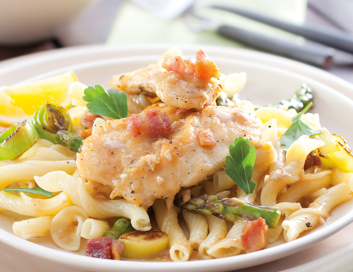 Spring-Vegetable-Chicken-Pasta
