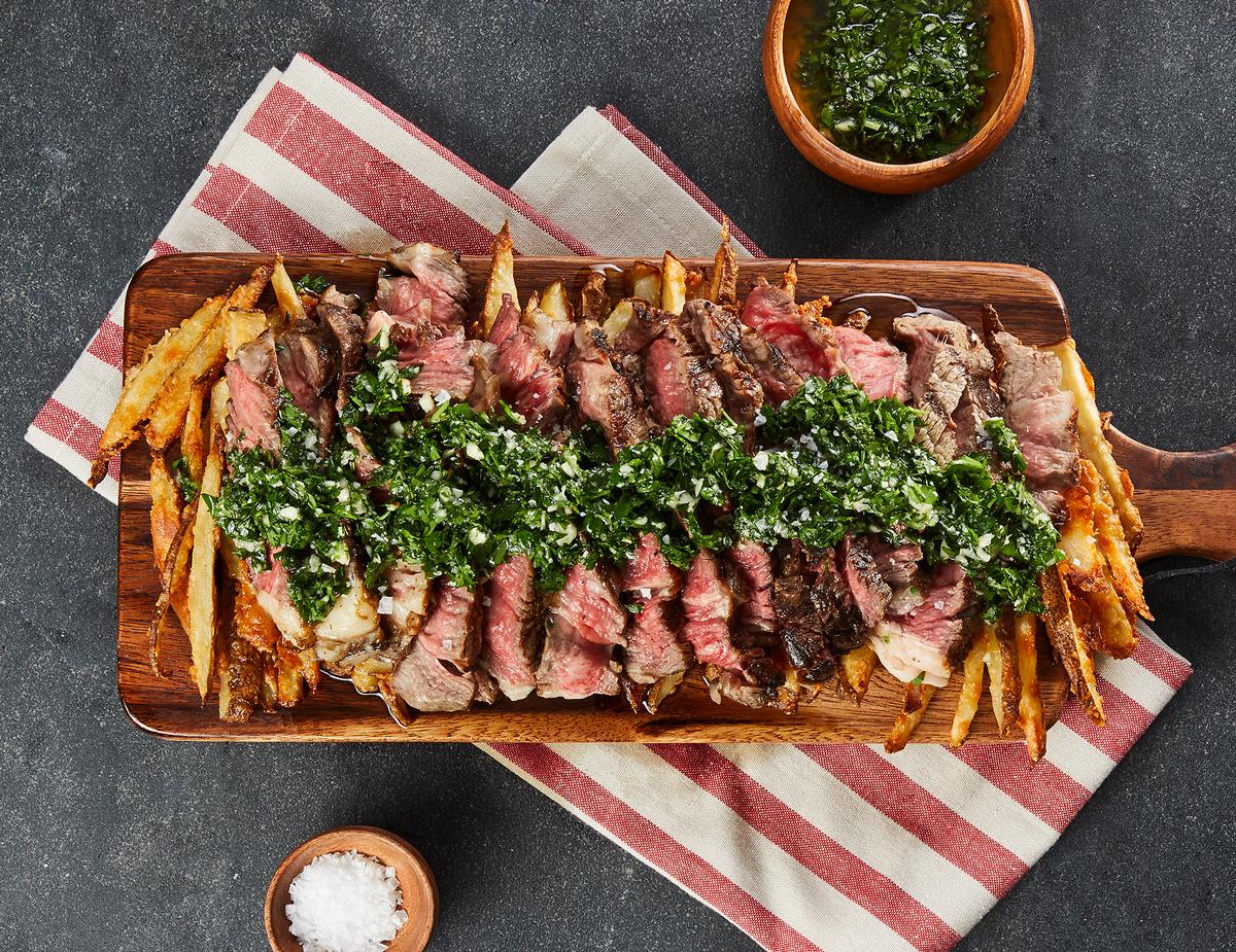 Steak-Frites-Gremolata