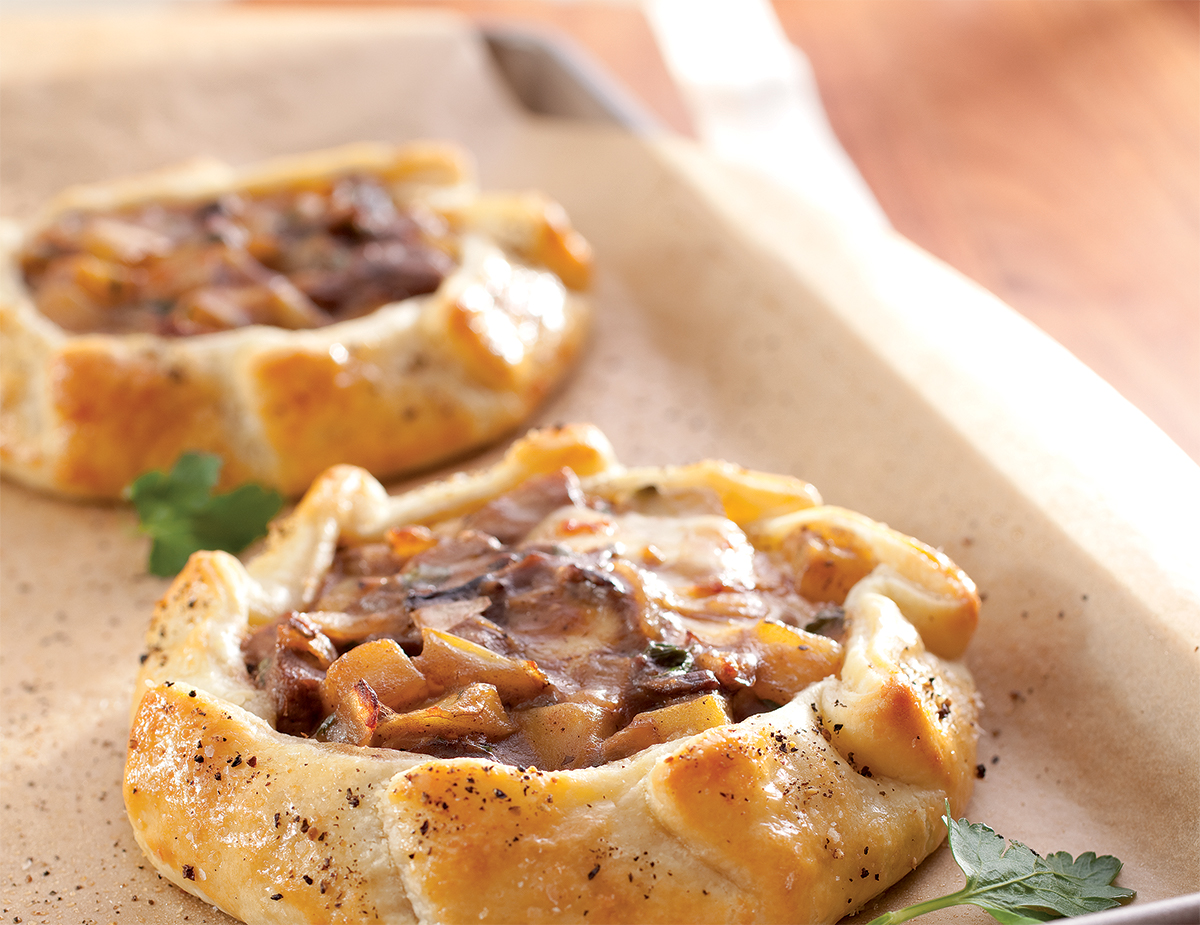 Beef and Guinness Rustic Pies