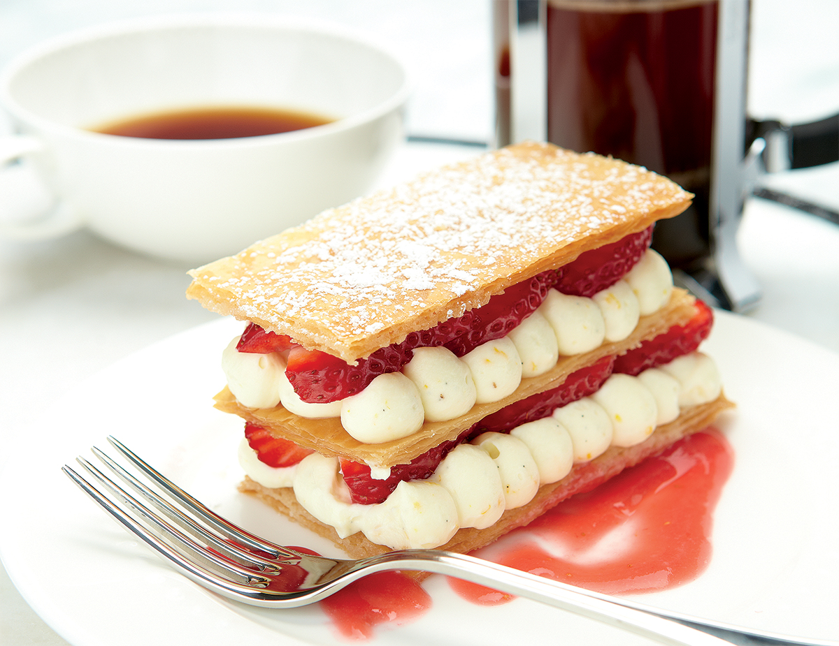 Napoleon Strawberry Rhubarb