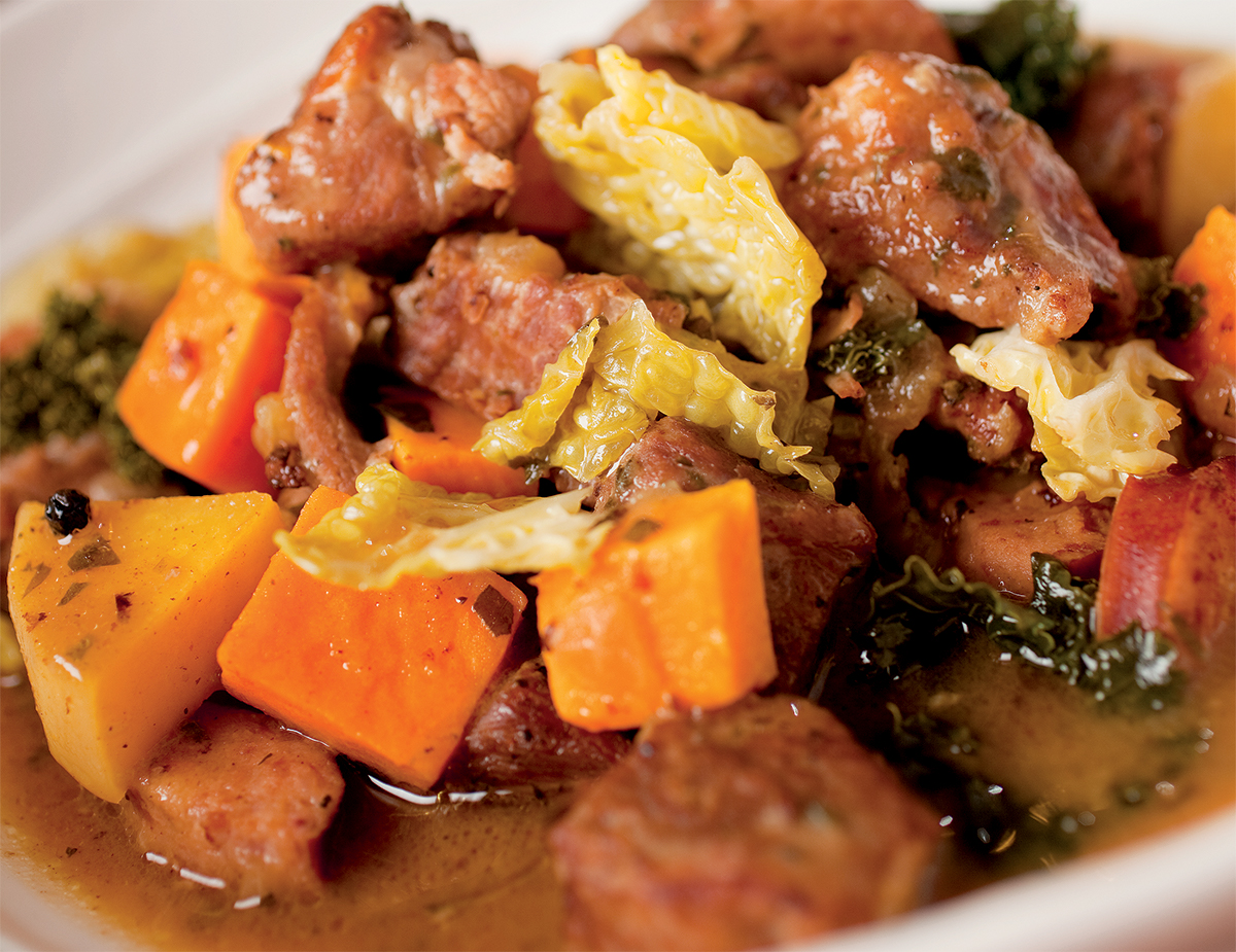 Pork Bavarian Stew