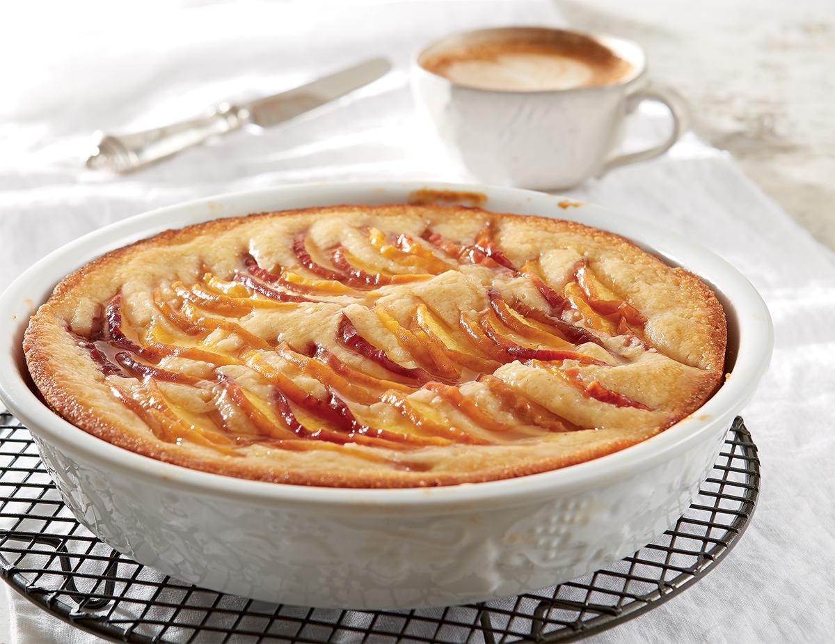 Cake Peach Farina