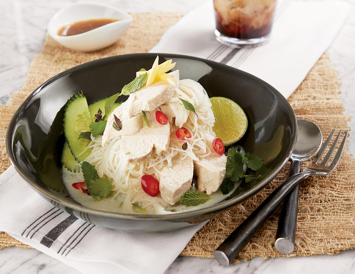 Coconut Poached Salad