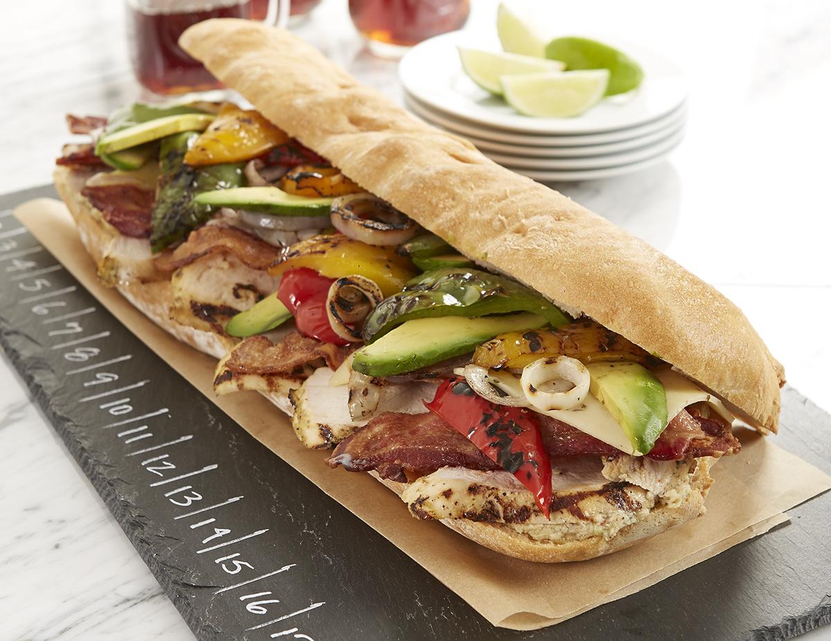 Cilantro Lime Chicken Sandwich
