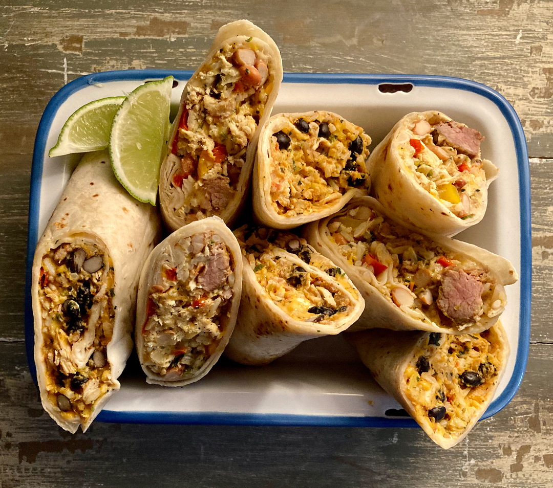 Inspired By Mexican Cuisine Dishes