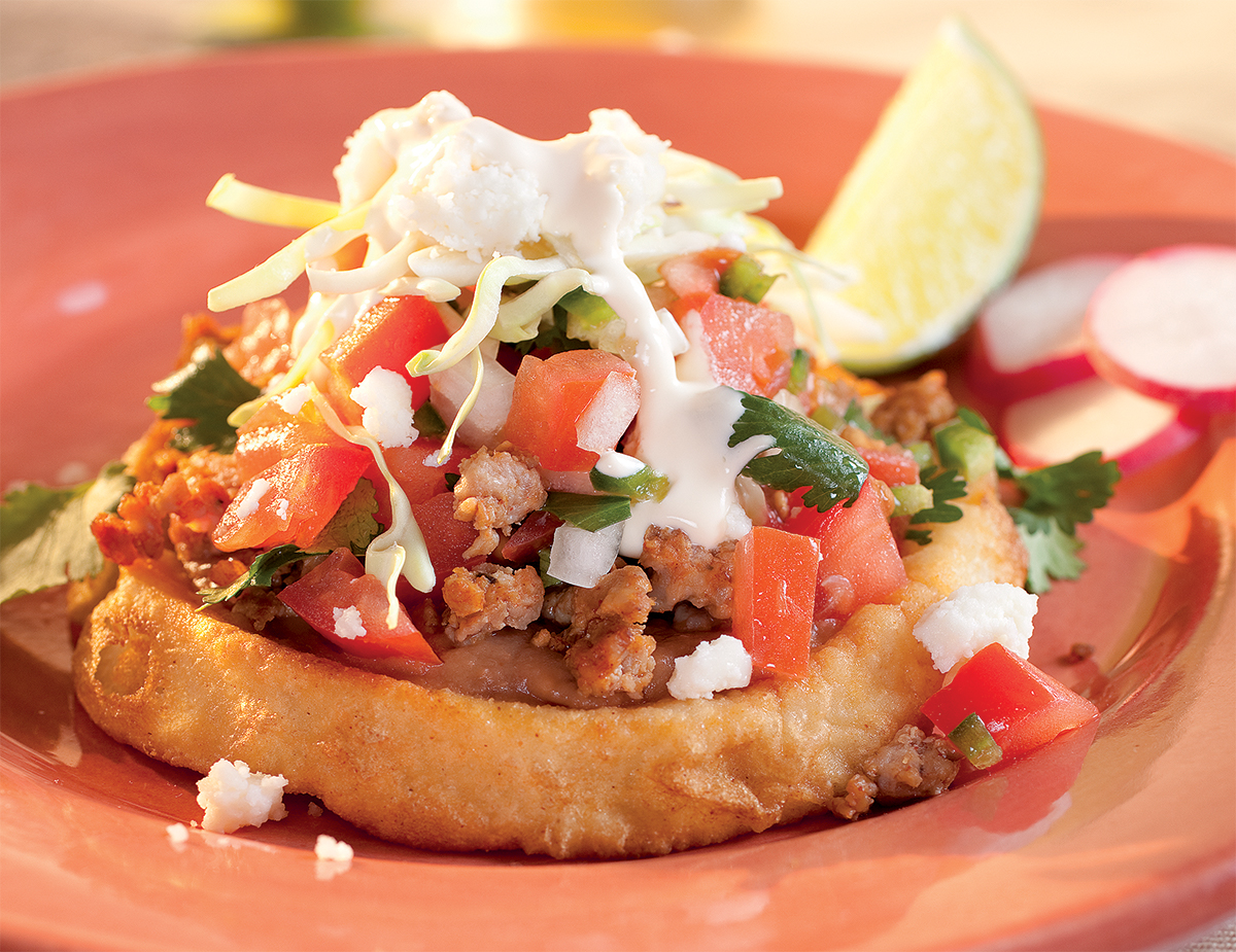 Sopes Mexican