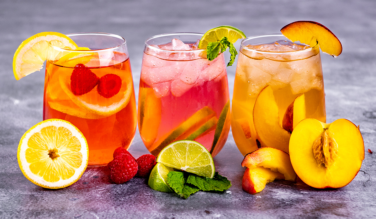 Fruity Iced Teas