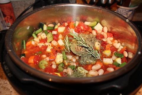 Instant Pot Rustic Vegetable Soup