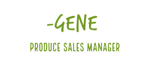 Gene, Produce Sales Manager
