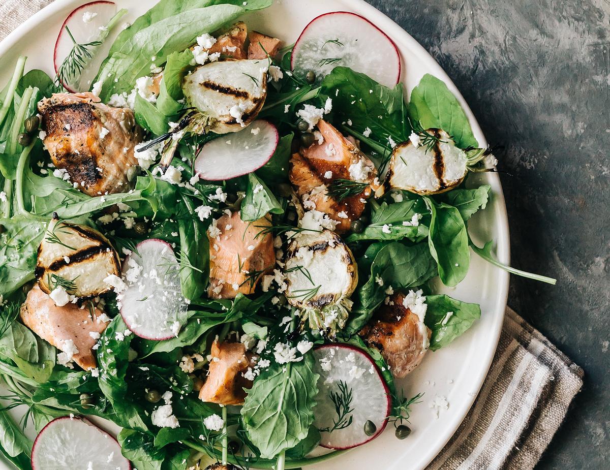 Lemon-Garlic-Dill-Salmon-Salad