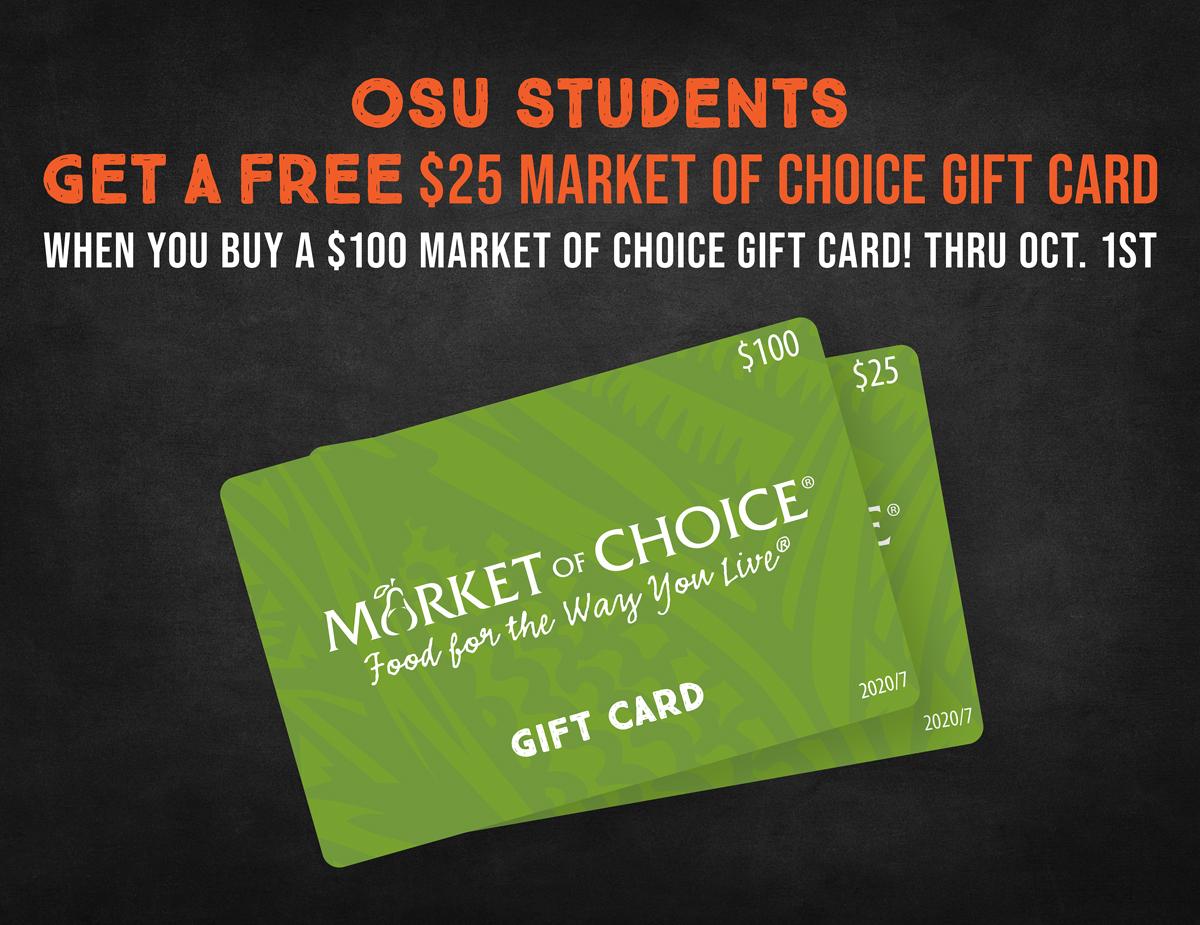 OSU Gift Card Promo