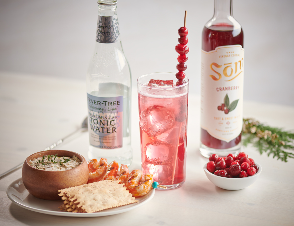 Cranberry Spritz